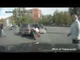 Russian Road Rage