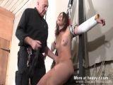 Bound amateur Sex Slave