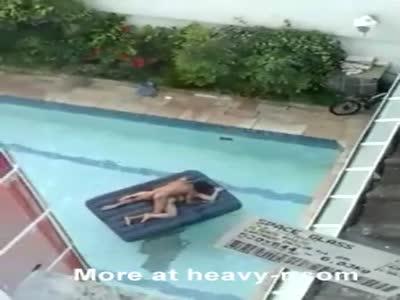 Shameless Sex In Public Pool