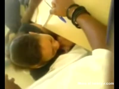 Amateur Classroom Blowjob and Cum Swallow at African College