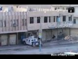 Terrorist Drops Bomb On Humvee From A Rooftop