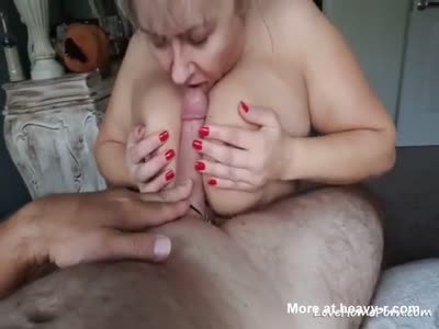 Busty Mature Tit Job