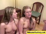 Young Girls Receiving Golden Shower