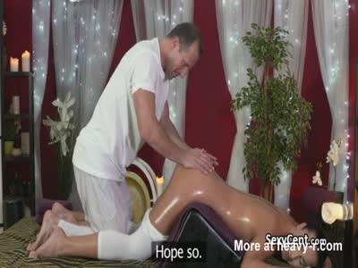Oily Massage Fuck