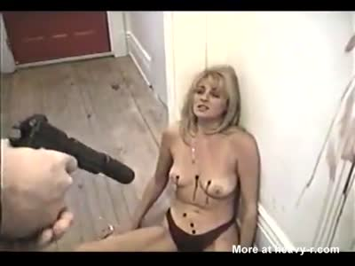 Blonde MILF Snuff Shot By Stranger