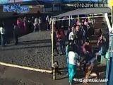 Car Plows Through Crowd