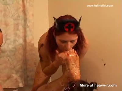Scat Foot Fetish Foursome