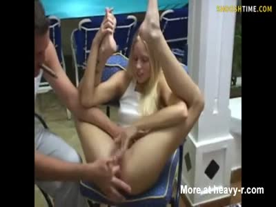 Teen Girl Anal Fingered In Public