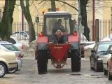 Salting The Road Russian Style