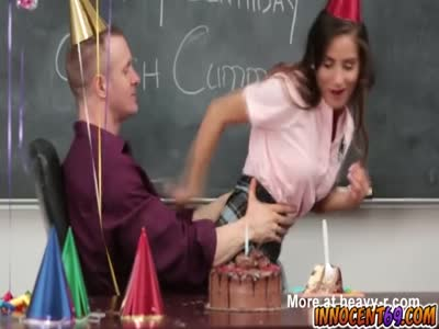 The Teacher And His Birthday Party