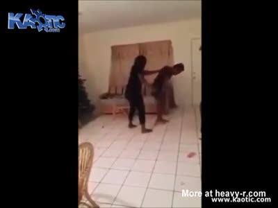 Mother Beats The Hell Out Of 12Yo Daughter