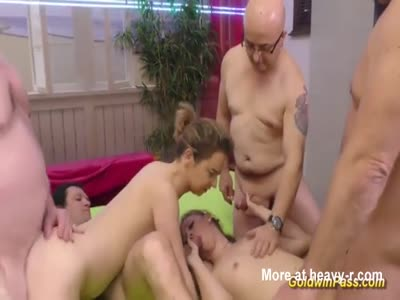 Young Girls In Orgy