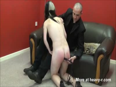 Rough Whipping For Amateur Slave