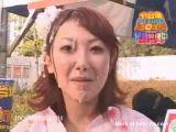 Live Bukkake For TV Presenter