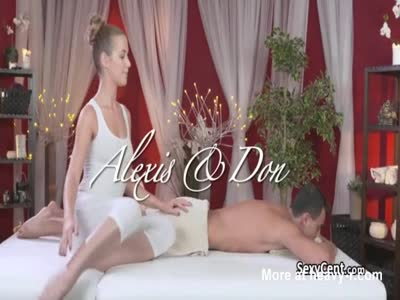 Dude got massage and cock sucking