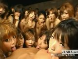 Japanese Harem Blowjob