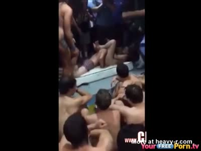 Students Have Sex At Pool Party