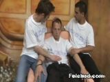 Threesome Gay Felching