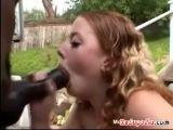 Redhead Teen Swallows Load