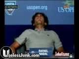 Rafael Nadal gets blow job in public