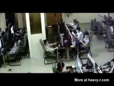 Kid Electrocuted at Internet Cafe And Dies