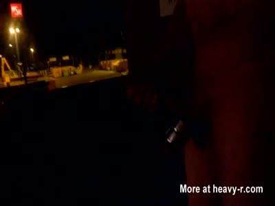 Flashing At Night