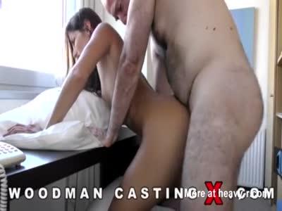 Casting X Cléa  Gaultier first anal