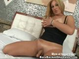 Shemale Bareback Sex With Cumshot