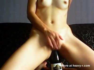 Sexy Teen Bottle Fuck