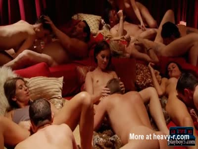 Married couple First Swingers Orgy