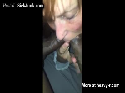 Granny Stuffing Two Huge Cocks