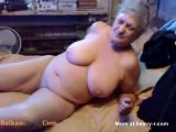 Naked, nasty fat grandma