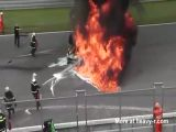 Lamborghini Gallardo LP560 High Speed Crash