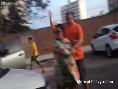 Road Ragers Get Their Car Stolen