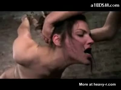 Bound Throat Fuck