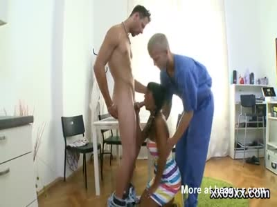 Stud assists with hymen physical and pounding of virgin cuti