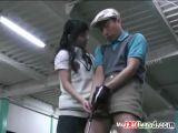 Asian Girl Wants Her Golf Coach