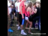 Ass Grinding Slut At Concert