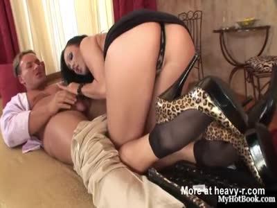 Leggy Brunette Jizzed On Her Sexy Feet