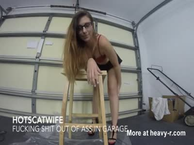 FUCKING SHIT out of ASS in Garage