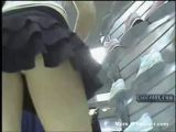 Spying Under Skirts At The Mall