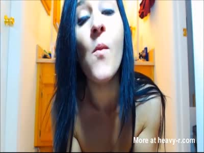 Girl Tries To Swallow Her Shit