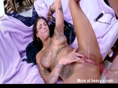 Anal Slut Has Squirting Orgasms