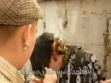 Bully skinheads set boys hair on fire