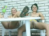 Lebians Eating And Pissing