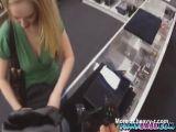 A cute little blond pawn an xbox