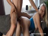 Blondie Anal Doggy Fucked