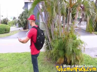 First Pokemon Go XXX scene!