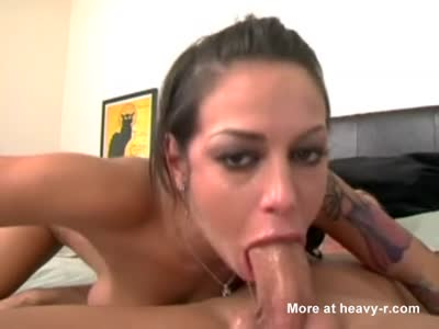 Brunette POV Throat Fucked