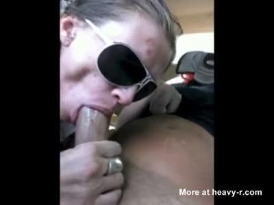 Hooker Gives Handicapped Customer A Blowjob